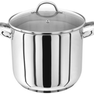 Judge Stainless Steel Stockpot with Glass Lid