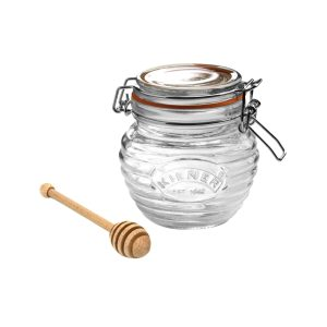 Kilner Clip Top Honeypot and Dipper