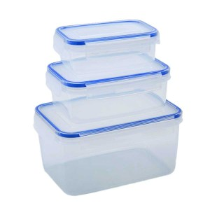 Addis Clip & Close Food Containers 3 Piece Set