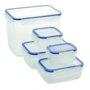 Addis Clip & Close Food Containers 5 Piece Set