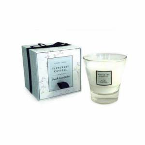 Tipperary Crystal French Linen Water CandleTipperary Crystal French Linen Water Candle