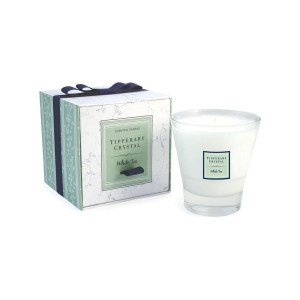 Tipperary Crystal White Tea Candle Filled Tumbler