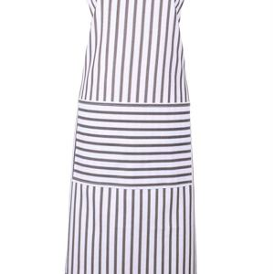 Ulster Weavers Franchini Grey Stripe Cotton Apron
