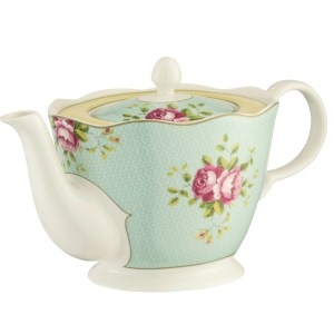 Belleek Aynsley Archive Rose Teapot