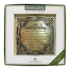 Royal Tara Old Irish Blessing Plaque