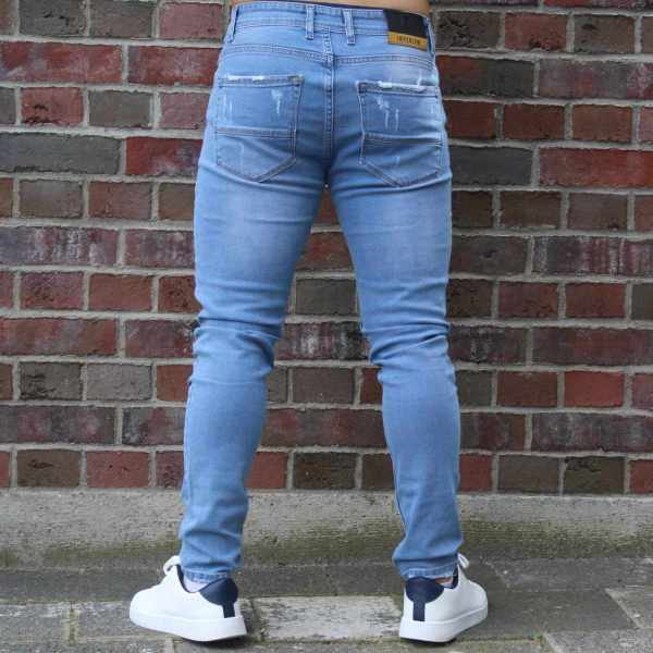 Denim Jeans - Destroyed Slim Fit 2