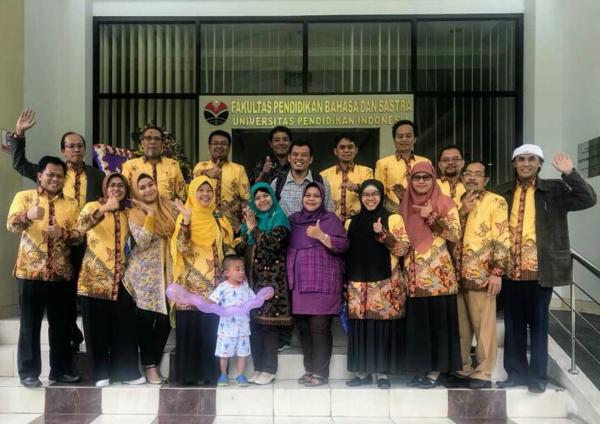 Pimpinan Jurusan Bahasa & Sastra Jawa UNNES Kunjungi FPBS UPI