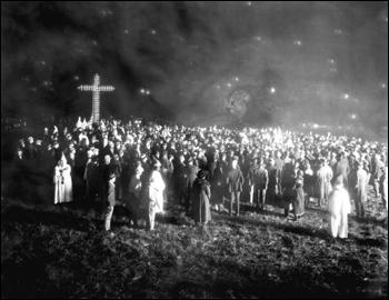 Ku Klux Klan rally: Tampa, Florida (1923)