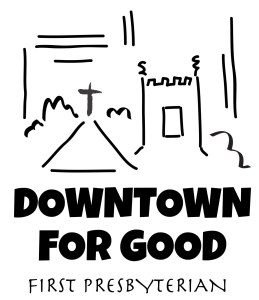 downtown for good graphic
