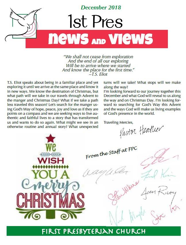 December news and views image