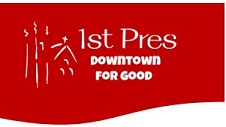 first pres logo red