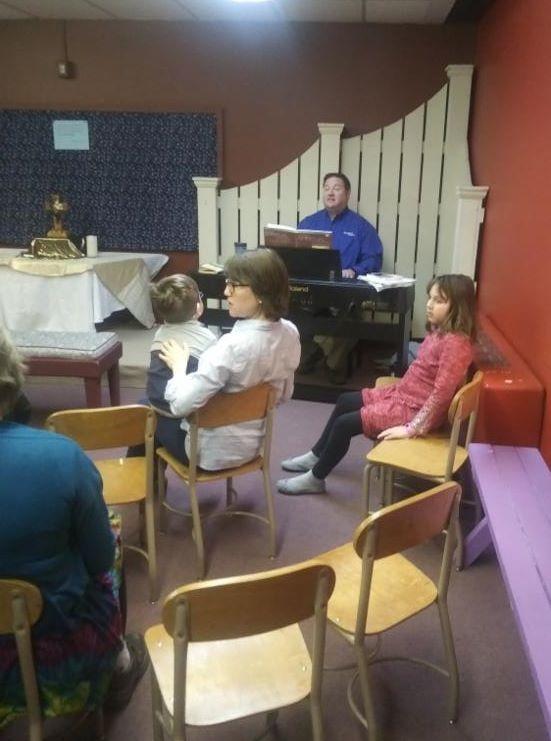 music class in nursery