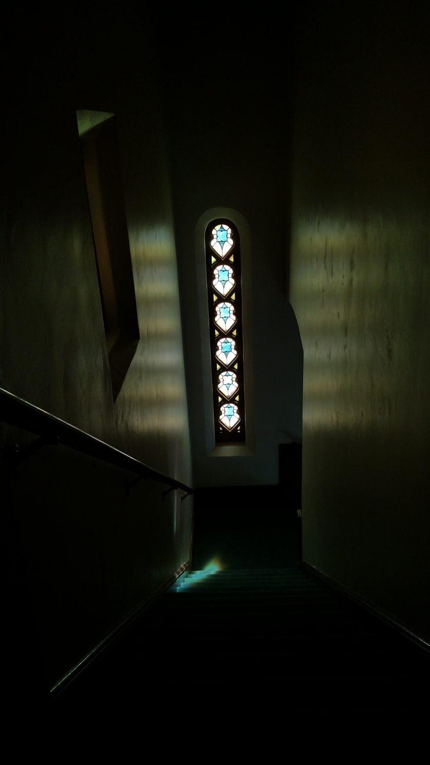 LC dark stairs