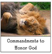 6-3-2018 Commandments to Honor God