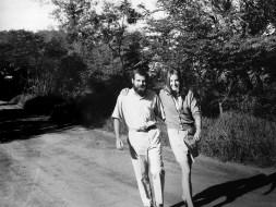 With Sue Endeman