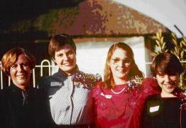 Mimi Austin, Lesa, Theresa Faix, & Amy Mowery