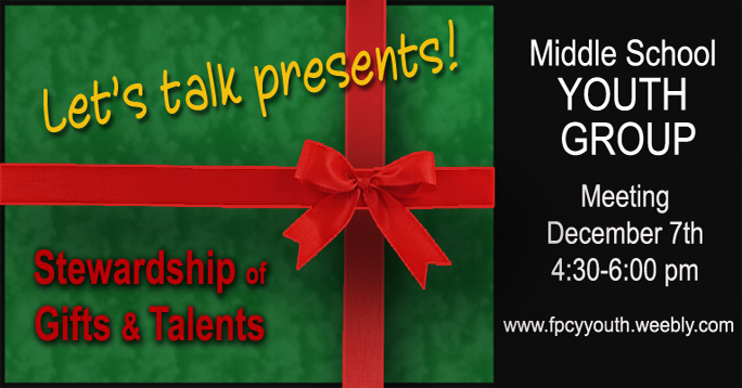 Youth group December 2014 POST
