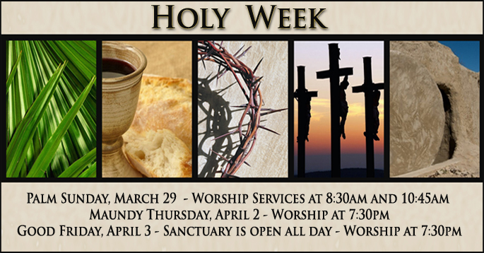 Holy Week  2015  POST