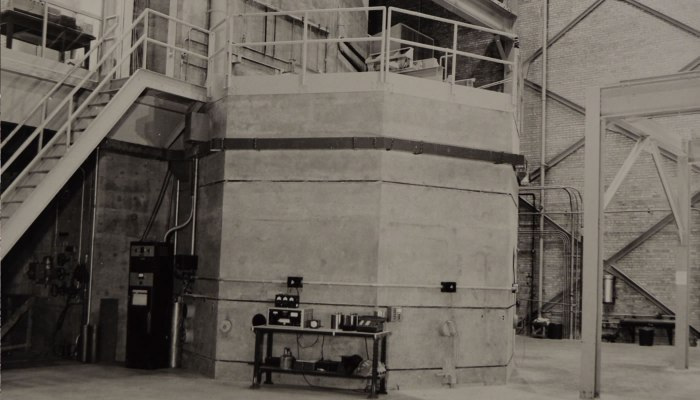 the CP-2 reactor at Site A