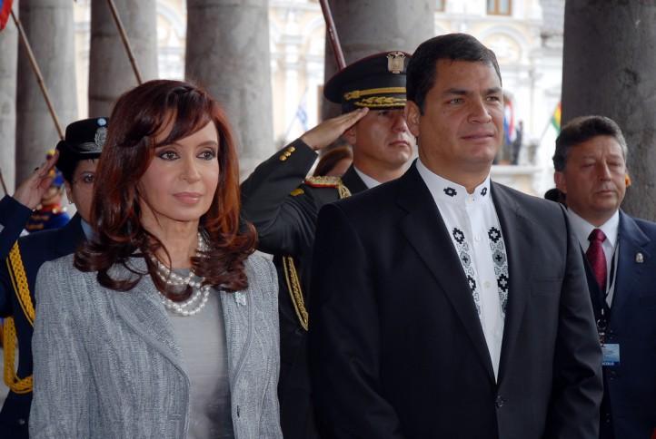 kirchner-correa-syria-intervention-latin-america