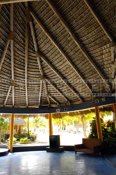 Dominican Republic resorts pictures of modern palapa