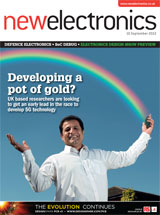 New Electronics - September 2013