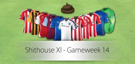 Shithouse XI Gameweek 14