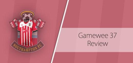 Gameweek 37 Review