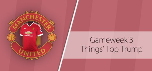 Things' Top Trump - Gameweek 3