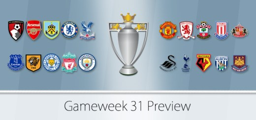 Gameweek 31 Preview
