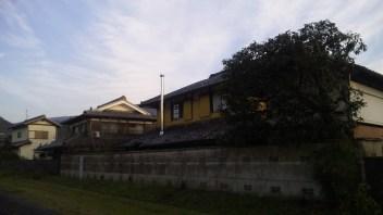 ゲストハウス藤原邸の裏側