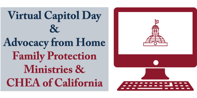 Join Us for Virtual Capitol Day and Advocacy from Home 2021