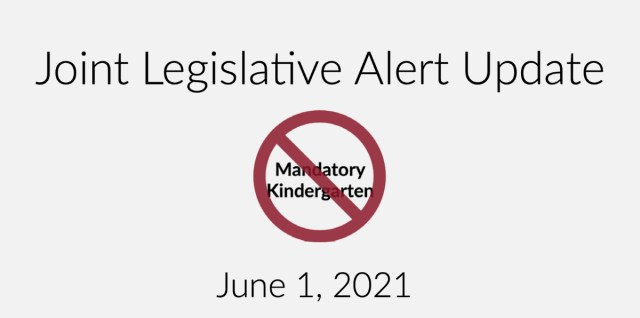 Joint Legislative Alert Update