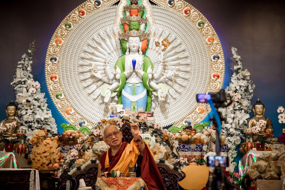Lama Zopa Rinpoche Long Life Puja Singapore