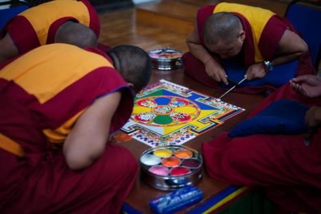 Tashi Lhunpo Sand Mandala