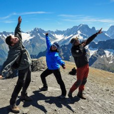 Top of Mount Buet, 3.091 meters, French Alps