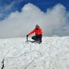 Top of Monte Perdido, 3.355 meters, Pyrenees