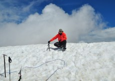 Top of Monte Perdido, 3.355 meters, Pyrenees