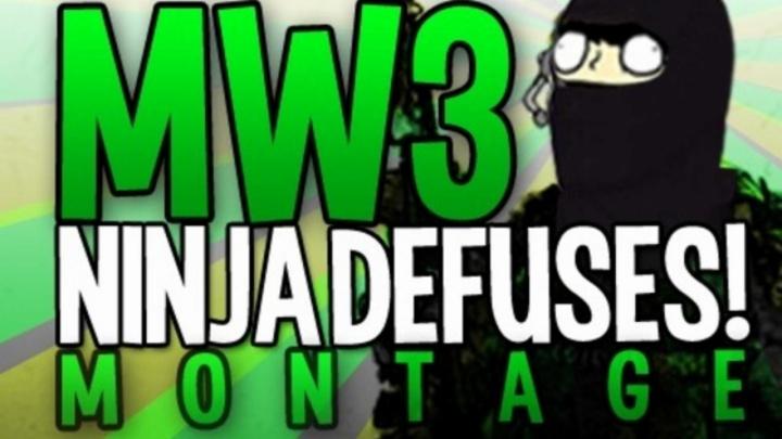 [MW3] おもしろ:こっそり爆弾解除する「忍者解除」が笑える。+おまけ2本