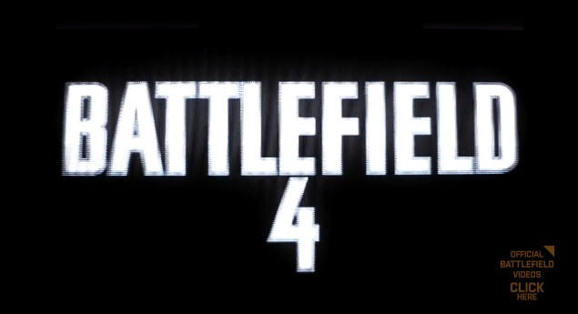 BATTLEFIELD 4:17分もの正式プレイ動画公開!発売は2013年秋!