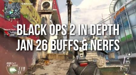 [BO2] Black Ops 2:パッチ1.06 武器強化/弱体化詳細。サプSMG -30%、SWATが最強武器へ