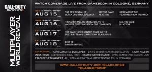 [BO2] 『Black Ops 2』マルチプレイヤー対戦をライブ配信!大規模ライブイベント8月15日開催