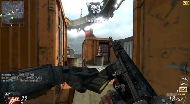 [BO2] Black Ops 2:巧すぎて意味が分からない、ノーアタッチメント・ノーパークプレイ動画