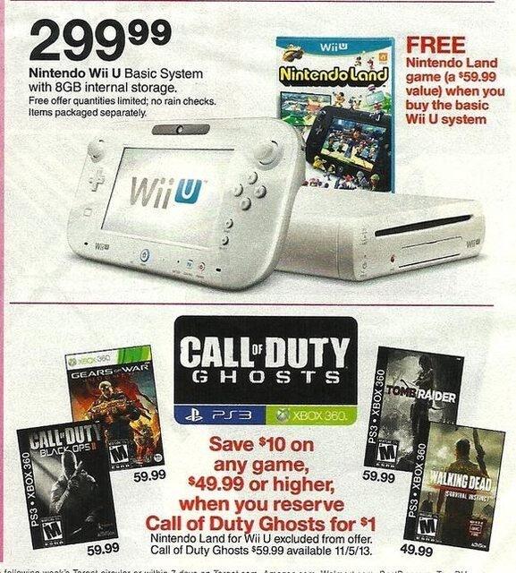 Call of Duty Ghosts 発売日