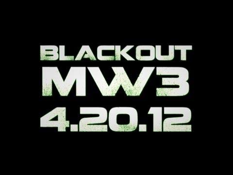 4月20日はMW3をやらない日?CoDの改善を求めるデモ『MW3 BLACKOUT 4.20.12 』