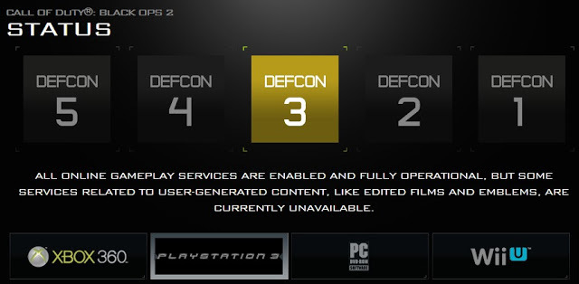 [BO2] 『Black Ops 2』オンラインに繋がらない?サーバーステータスを確認する方法