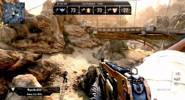 [BO2] 『CoD: Black Ops 2』マルチプレイヤー遂に公開!! 3チームによるチームデスマッチ搭載か