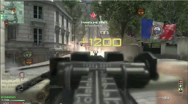 [MW3] マイナー武器「PKP」でギリギリMOAB!しかもレベル1のドノーマル 4:42