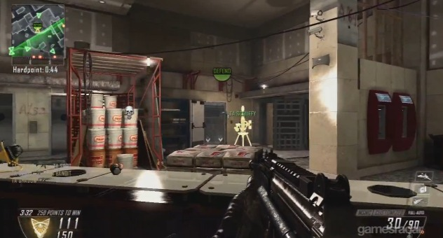 """[BO2] 『Black Ops 2』新ルール""""ハードポイント""""のプレイ動画!マップは「Overflow」 1:34"""