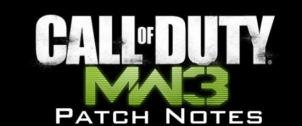 [MW3] パッチ:『CoD:Modern Warfare 3』PS3版パッチ1.19 、PC版パッチ1.15の内容[追記]